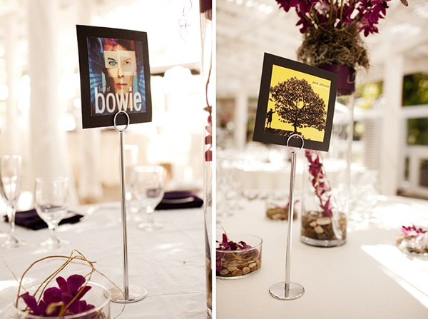 Album Cover Table Cards